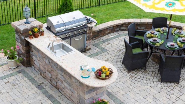 Explore These Outdoor Kitchen Countertops