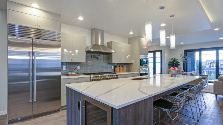 Increase Value and Comfort with Granite or Quartz Countertops and More